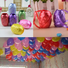 New 6 Roll 60M Colored Curling Balloon Ribbon Wrap Birthday Wedding Party Decor