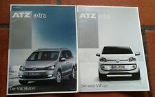 """ATZ extra """"er VW Sharan"""" 2010 und """"Der neue VW up!"""" Sonderheft 2011"""
