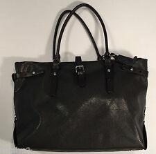 Tumi Villa VIVERONE BUSINESS TOTE Coated Canvas/Leather Trim Black 73107D2 $495