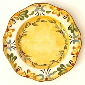 PIER 1 BELLANINA Ceramic Salad Lunch Luncheon or Sandwich Plate [SET of 2]