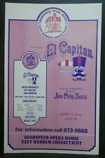 "El Capitan Theater Broadway Window Card Poster 14"" x 22"""