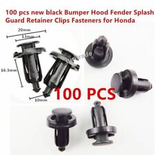 100 pcs new Bumper Hood Fender Splash Guard Retainer Clips Fasteners for Honda