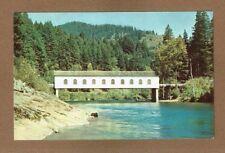 McKenzie River, COVERED BRIDGE, near Eugene,Oregon,OR