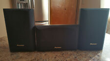 Pioneer S-CR205 3-piece Surround Speaker System