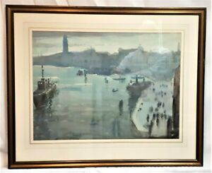 Arthur Knighton Hammond (1875-1970) original watercolour painting Venice