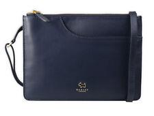 """RADLEY London Damen Handtasche Tasche """"Pockets"""" 10023 Leder blau, rechteckig"""