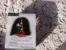 Dept 56 Heritage Village Collection North Pole Series Catch The Wind