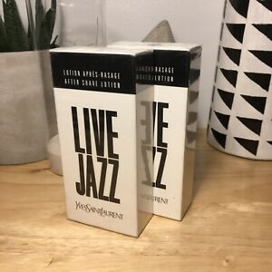 Live Jazz By Yves Saint Laurent Aftershave 1.6 oz / 50 ml Sealed in Box Vintage
