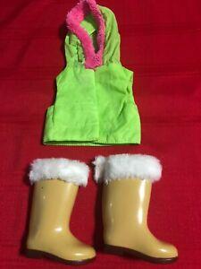 Madame Alexander Replacement Boots & Vest