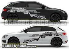 Seat Leon FR Cupra Rally 013 racing circuit-board  graphics stickers decal vinyl