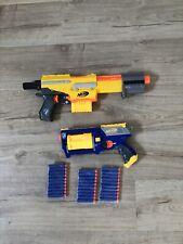 Alpha Trooper CS-6 Nerf Gun Blaster And Maverick Nerf Gun + 30 Darts