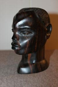 Massai Kopf Ebenholz Kenia - schöne Arbeit