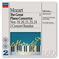 Alfred Brendel - Mozart The Great Piano Concertos 1924 2 Concert Rondos [CD]