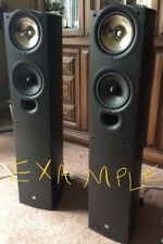 KEF i Q 5 series SP 3501 Floor standing Speakers Black Ash Never used Vintage!