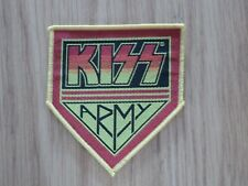 KISS - KISS ARMY (SHAPED) (NEW) SEW ON PATCH OFFICIAL BAND MERCH