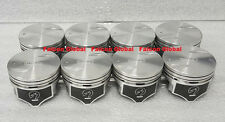 Chevy 7.4/454 Speed Pro Hypereutectic Coated Skirt Flat Top Pistons Set/8 STD