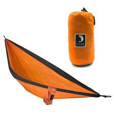 Tribe Provisions Double Person Adventure Portable Hammock Rip-Stop Nylon Orange