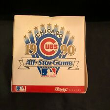 Chicago Cubs Box of new Kleenex  - Chicago's 1990 All Star Game