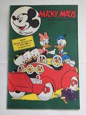 Micky Maus 1970 Nr. 41 mit MMk-Zeitung mit Sammelbid Ehapa Walt Disney KR-P