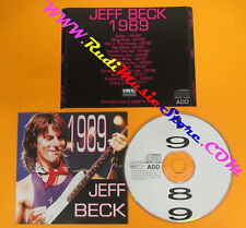 CD JEFF BECK Live in Japan 1989 Italy LIMITED RECORDS  no lp mc dvd (XS11)