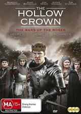 The Hollow Crown - War Of The Roses (DVD, 3-Disc Set) NEW