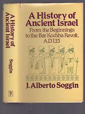 A History of Ancient Israel, From the Beginnings to Bar Kochba, Soggin, 1985 DJ