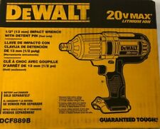 New DEWALT DCF889B 20V Max Lion 1/2 in. High Torque Impact Wrench Bare Tool Only