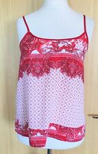 Traffic People Ladies Vest Top M 10 12 Summer Casual Holiday Festival  Boho