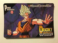 Dragon Ball Z PP Card PART 28 - 1249