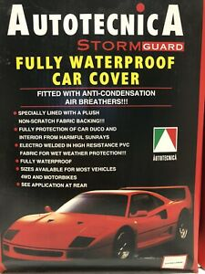 Autotecnica Fully Waterproof Stormguard Extra Large Car Cover