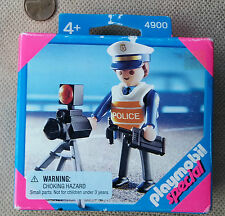 Playmobil Special 4900 Policeman with Radar Gun Camera NIB Factory Sealed New