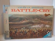 Battle Cry Board Game Vintage 1961 MB Near Complete -Missing Instruction Booklet