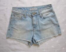 MAVI Jeans Co. JUDY Cut off Frayed Denim Shorts ~ Light Wash ~ Size 2 / W25