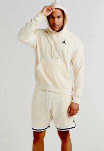 Air Jordan Remastered Striped Pullover Light Cream White Navy CD5739-271 Mens XL