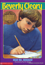 Dear Mr Henshaw by Beverly Cleary (1983 Hard Back Cover)
