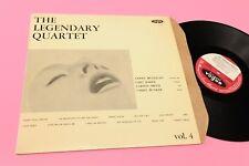 CHET BAKER LP LEGENDARY QUARTET ORIG ITALY '60 EX VOGUE DISTRIB DURIUM !!!!!!!!!