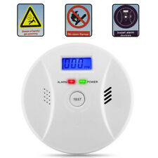 Combination Carbon Monoxide And Smoke Alarm Battery Operate Co Detector Us Stock