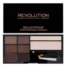Makeup Revolution Ultra Brow Kit - MEDIUM-DARK - Eyebrow-Brow Powder+Wax Palette
