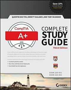 """CompTIA A+ Complete Study Guide: Exams 220�""""901 and 220�""""... by Skandier, Toby"""