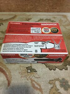 Magnavox DTV Digital To Analog TV Converter TB110MW9 New In Box With Remote