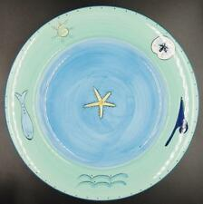 """K.I.C./BRUSHES """"Kih1"""" Dinner Plates (2)..12 Available..EXCELLENT..FREE Shipping!"""