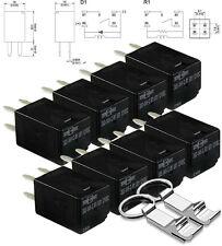 8x SongChuan 303-1AH-C-R1-U01-12VDC General Purpose Relays SPNO 20A 12VDC + FREE