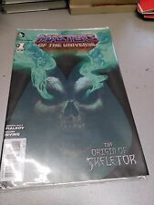 MASTERS OF THE UNIVERSE THE ORIGIN OF SKELETON #1, DECEMBER 2012, near mint
