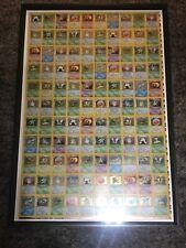 Pokemon Uncut Sheet First Edition Jungle HOLO