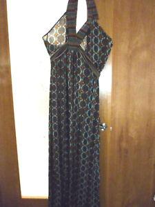 vestido dress largo mujer chica, talla 44 46,48,50 MUY REBAJAS SURKANA