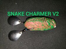 Hollowbody frog, the snake charmer V2 Snakehead Lure, Topwater Lure, Bass Lure