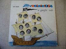 "JOLLY ESTATE 1964""A GONFIE VELE-disco 33 giri JOLLY 1964-Tenco/Hardy/Mola/LEALI"
