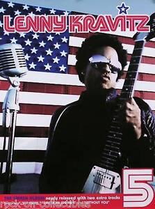 "Lenny Kravitz 1999 ""5"" American Woman Original Promo Poster"
