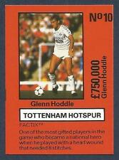 EMLYN HUGHES TEAM TACTIX-1986-REF-#TH-010-TOTTENHAM & ENGLAND-GLENN HODDLE