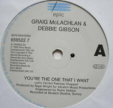"""CRAIG McLACHLAN & DEBBIE GIBSON - You're The One - 7"""""""